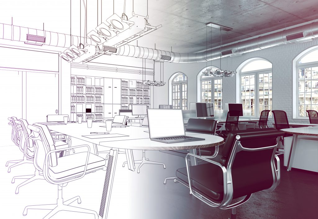 Integrating The Open Floor Model For An Office Design That Promotes Focus